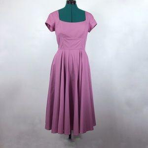 eShakti Pink Midi Dress